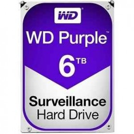 WD D/S Purple WD60PURZ 6TB Surveillance 64mb IntelliPower