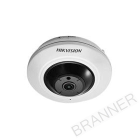 Cámara de Seguridad IP Hikvision Fisheye IP 4MP 180° POE IR 10m Audio/Alarma