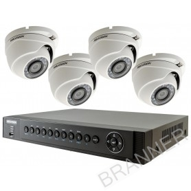 KIT DE 4 CÁMARAS DE SEGURIDAD HD DOMO Dahua KIT CCTV 4 CH HD DOMO Kit de Cámaras de seguridad HD